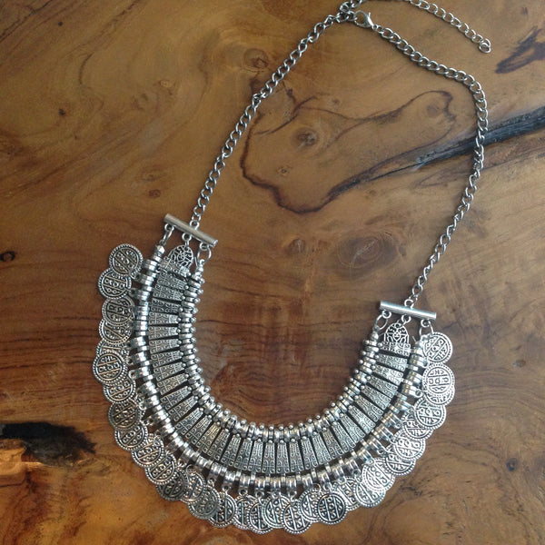 Willa Coin Necklace