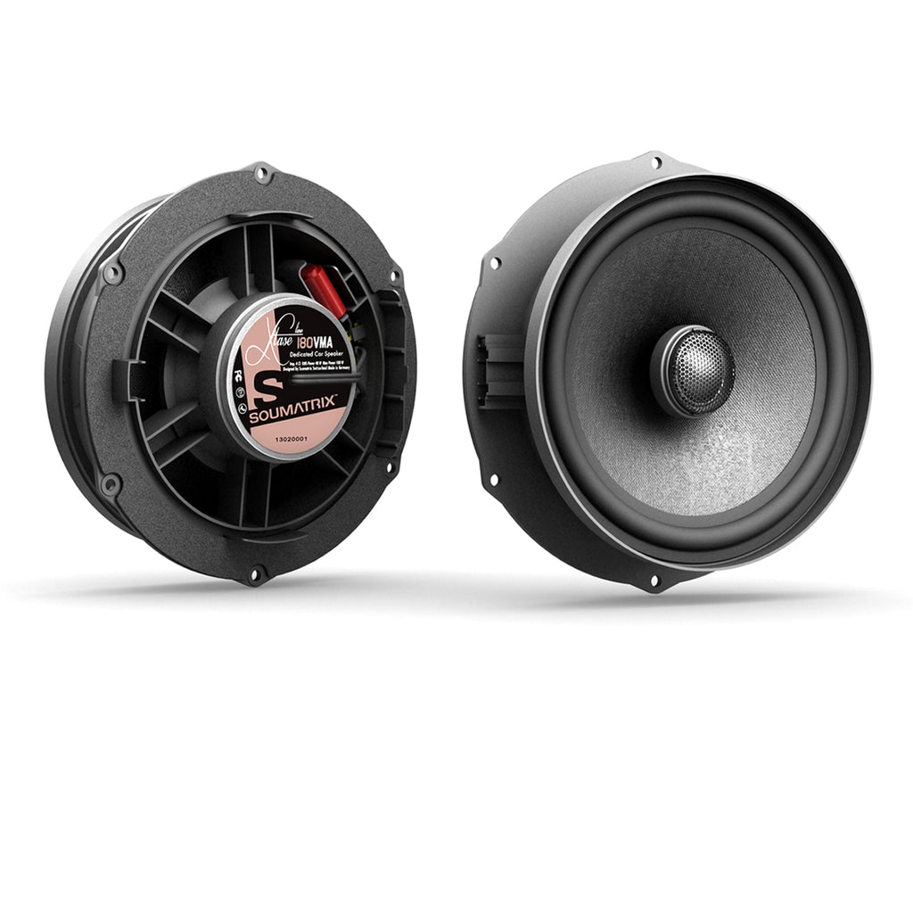 Soumatrix Inspirit VHK2 VW CC Passat B6 Passat Wagon OE Upgrade Speaker Kit Sound Matrix Corp.