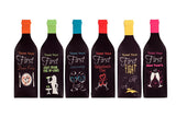 Toast the Firsts Wine Bottle Covers, Bridal Showers and Engagement Party Gifts