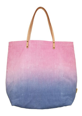 Ombre Casual Tote Pink