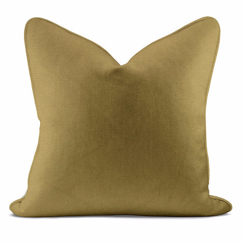 Golden Cloud Coral Pillow Case