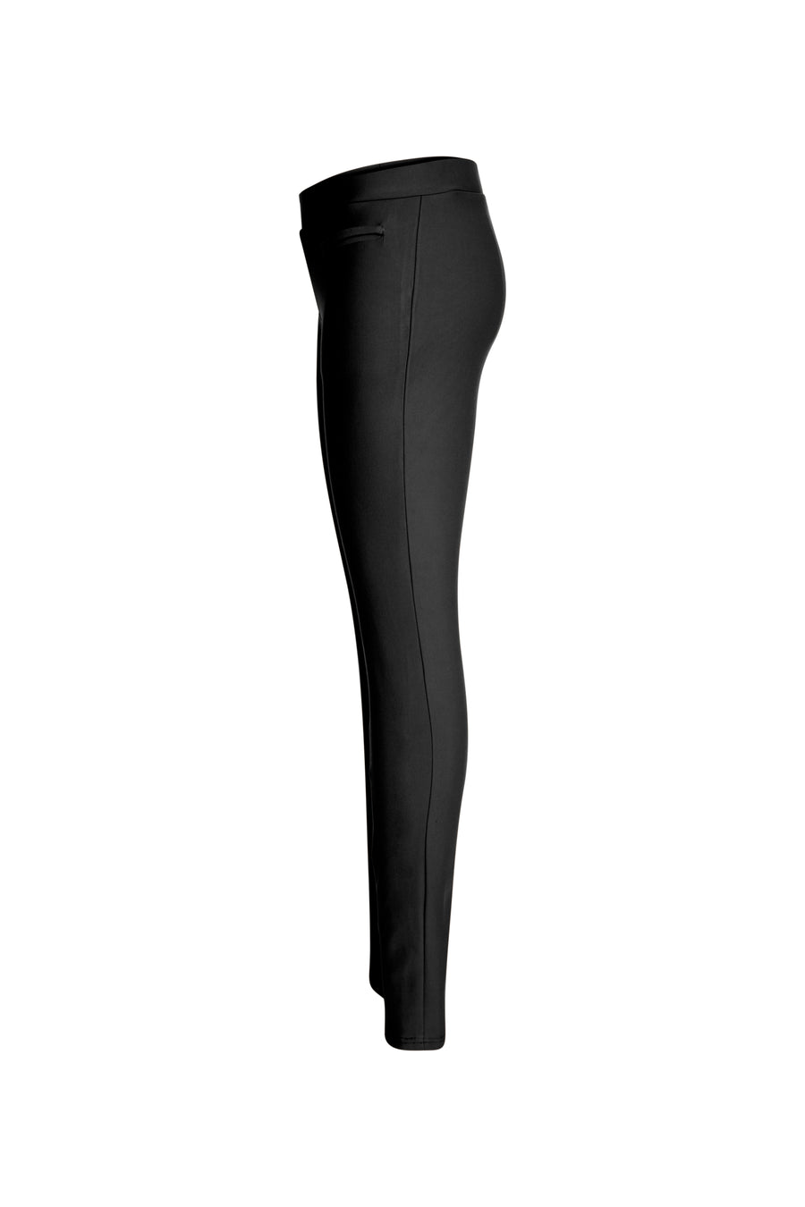 Black Slip on Ponte Legging