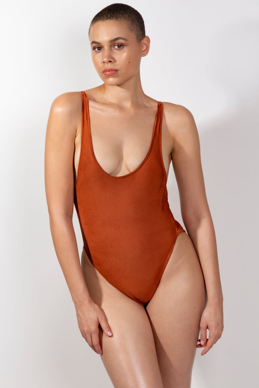 Rust Sunset Swimsuit