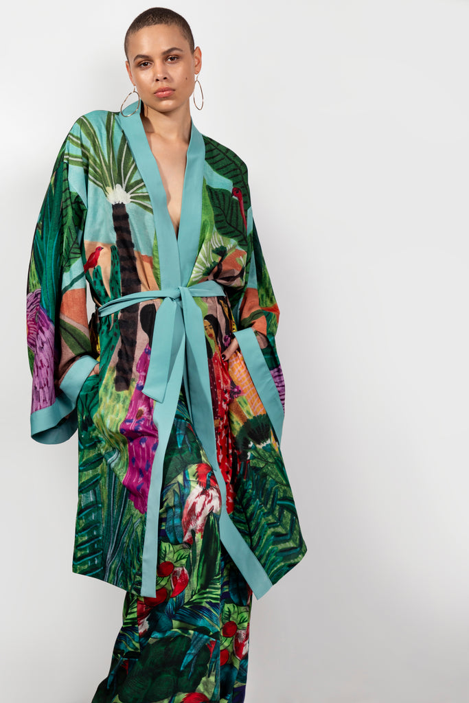 Girlfriends In Paradise Robe