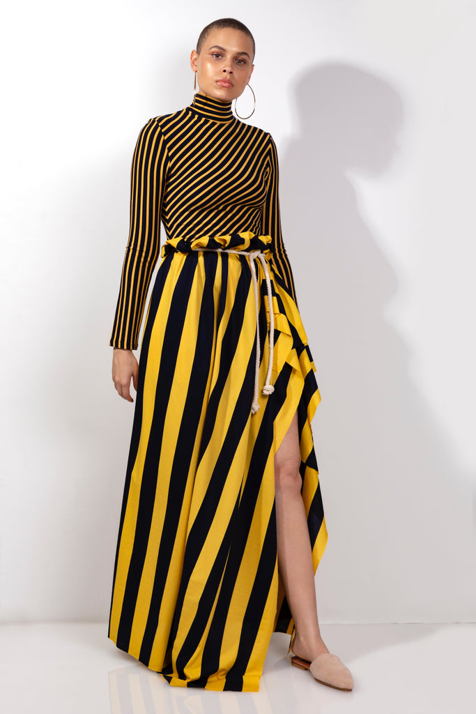 Halliard Stripe Skirt