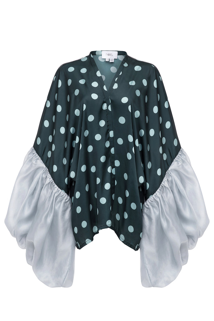 Polka Dot Short Robe