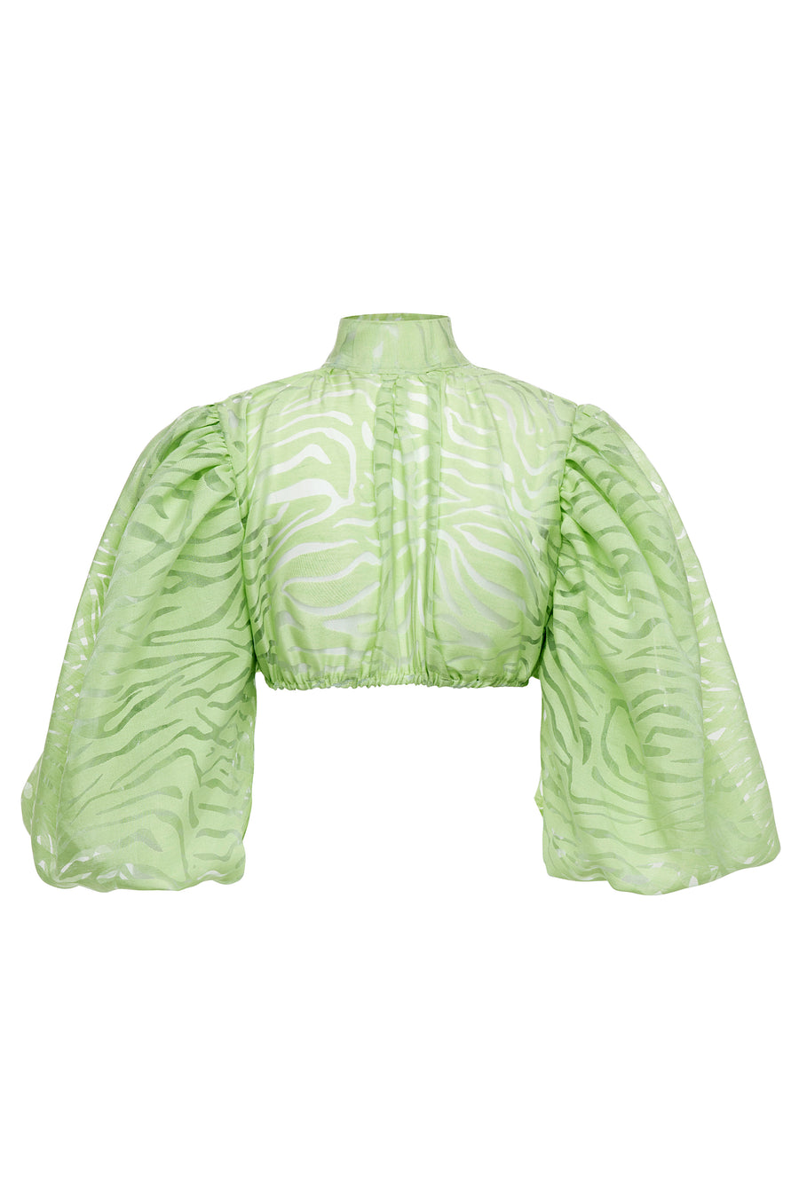 Dancehall Puff Sleeve Top