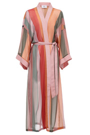 Carenage Stripe Robe