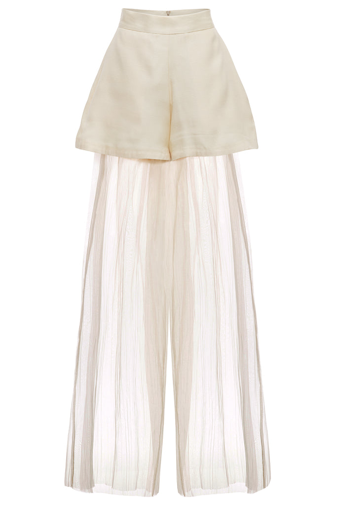 Sheer Layerd Pant