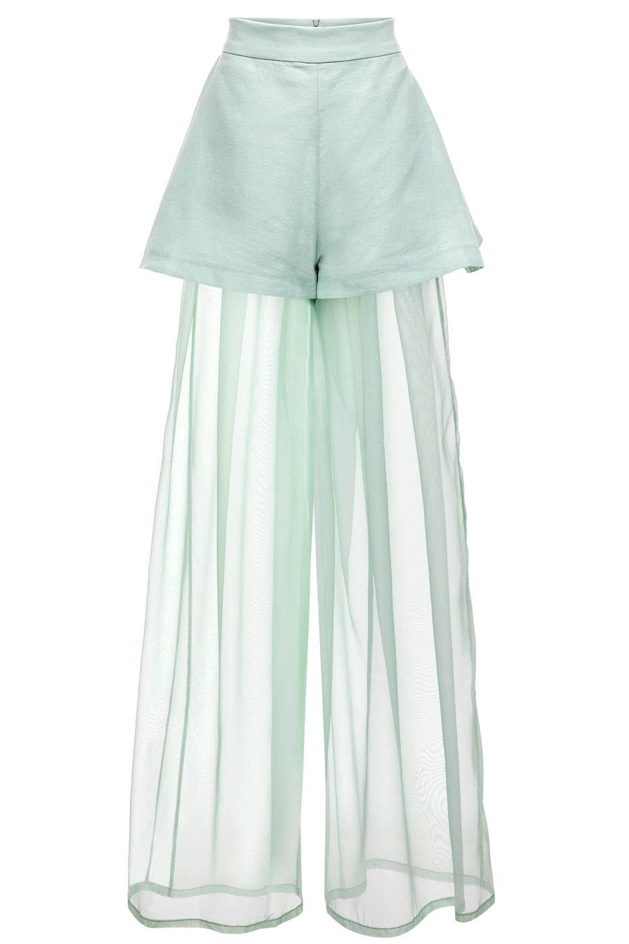 Caribbean Mint Layered Pant