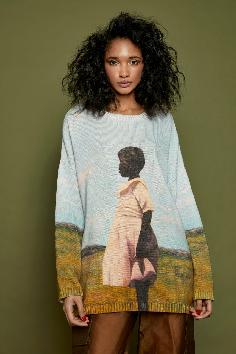 Daughter of the Soil Knit Sweater
