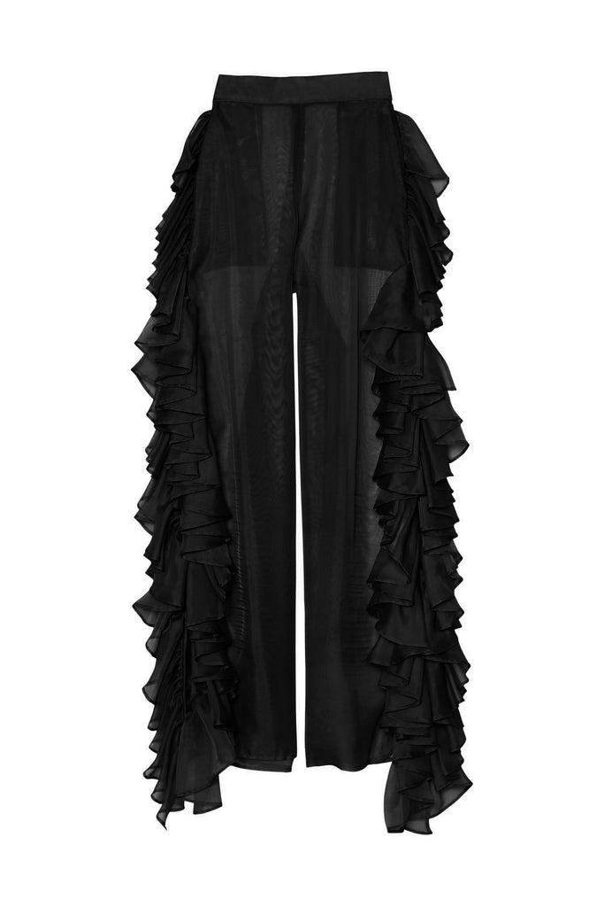 Midnight Frills Pant