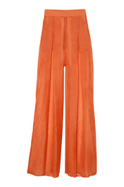Light Rust Sheer Pants