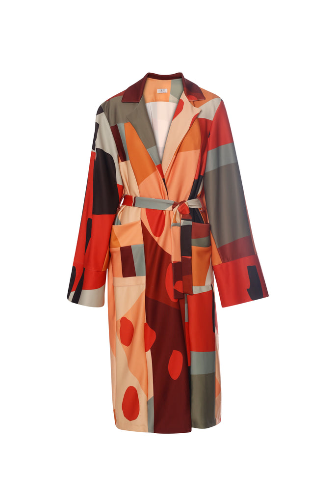Cubist Neoprene Trench