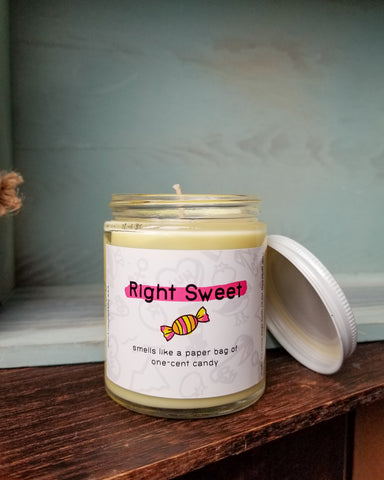 Right Sweet Scented Candle