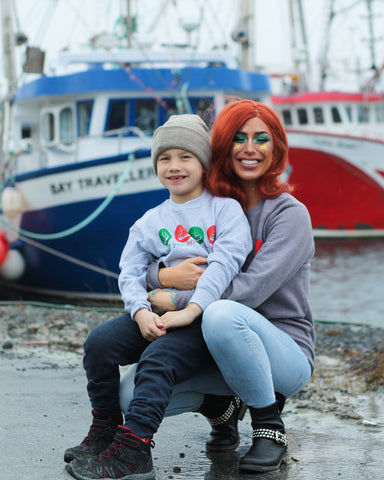 PDG Christmas in the Harbour Adult Unisex Sweatshirt