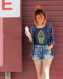 Custard Cone Ladies Tee