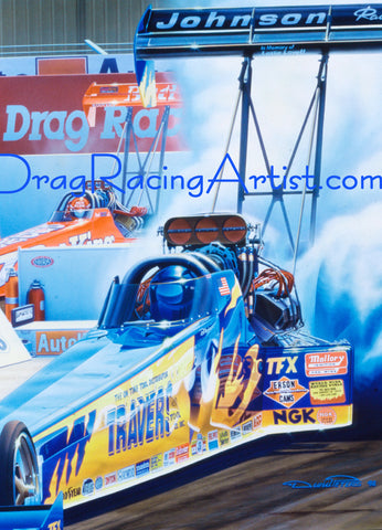 Drag Racing Art...Larger prints and Driver Signed Limited Editions
