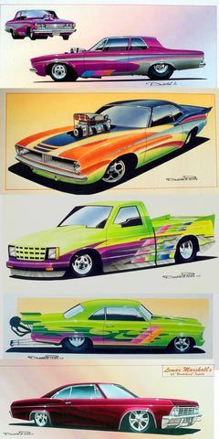 Drag Racing Paint Schemes, and Award Winning Graphic Design