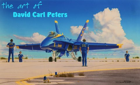 "Blue Angels F-18... The ""Boys in Blue""....Aviation Art"