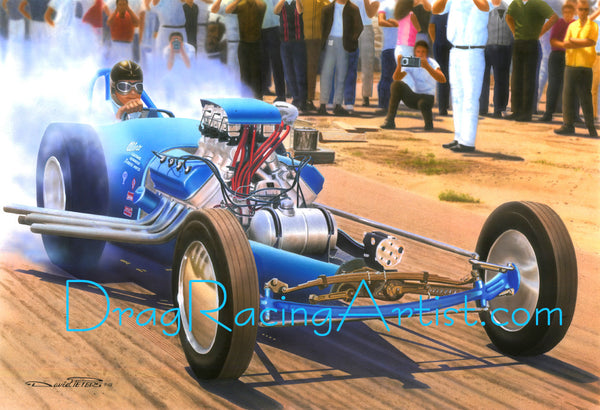 "Cook & Bedwell's ""TopDog"".... Drag Racing Art"