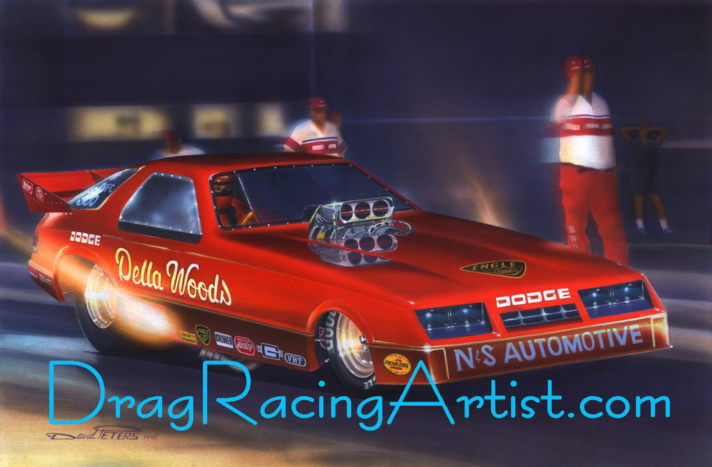 Dellas dodge della woods dodge daytona drag racing art the dellas dodge della woods dodge daytona drag racing art sciox Image collections