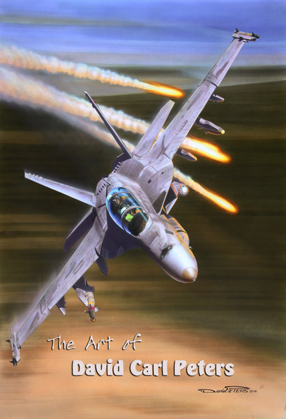 "F-18F ""Bringing the Heat"" Super Hornet....Aviation Art"