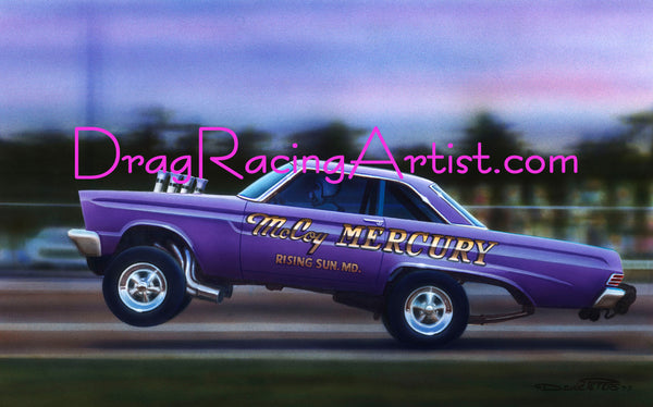 "The ""Real (Purple) McCoy""     Hayden Proffitt's Original 65 Comet..."