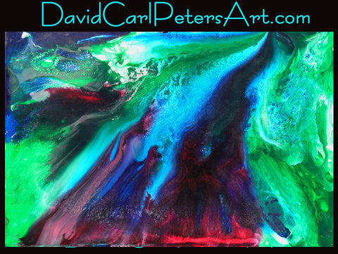 Red River...Abstract Art by David Carl Peters