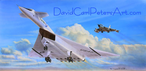 "XB-70 ""Flight of the Valkyrie"" Aviation Art"