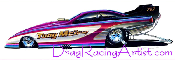 California Purples...Tony Mac's Dodge Daytona