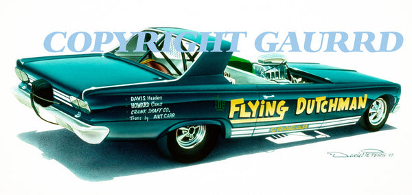 "The ""Flying Dutchman""   Al Vander Woude's 66 Dodge Dart Roadster"