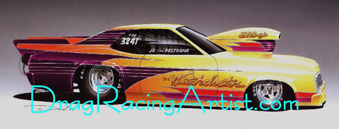 "The ""Witchdoctor"".....Jr. Pastrana's ""Bad-Ass"" Jerry Haas built 69 Nova"