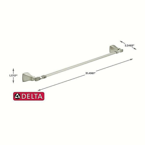 "Delta Sawyer 24"" Towel Bar Dimensions"