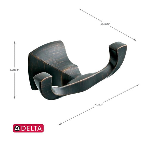 Delta Sawyer Robe Hook Venetian Bronze