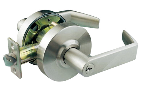 Commercial Satin Chrome Entry Heavy Duty Handle Lever - Style 58330SC