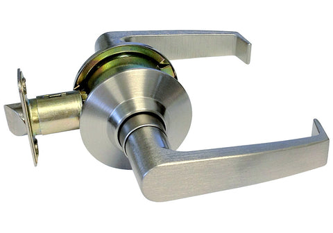 Satin Nickel Passage Handle Handicap Friendly Lever - Style 8101S01DC