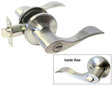 Satin Nickel Entry Handle Lever - Style 838DC