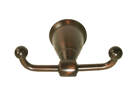 Oil Rubbed Bronze Double Robe Holder - Series BA11-ORB