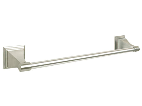"Satin Nickel 24"" Towel Bar - Series BA12-BN"