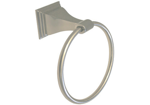 Satin Nickel Towel Ring - Series BA12-BN