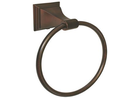 Oil Rubbed Bronze Towel Ring - Series BA12-ORB