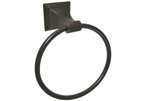 Dark Oil Rubbed Bronze Towel Ring - Series BA12-VBR