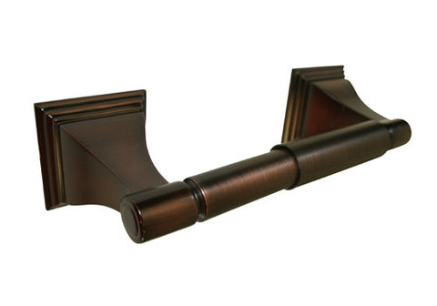 Oil Rubbed Bronze Toilet Tissue Roll Paper Holder - Series BA12-ORB