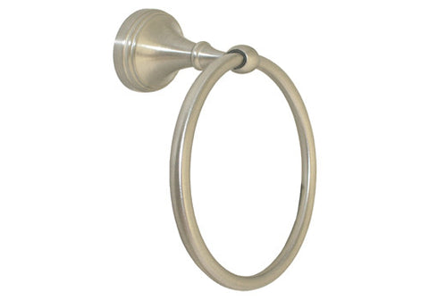 Satin Nickel Towel Ring - Series BA61-BN