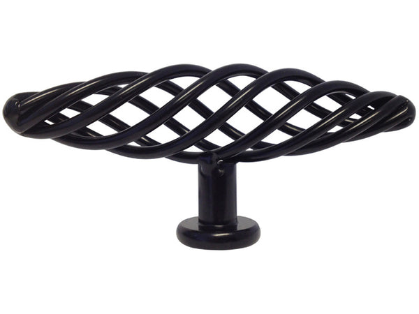 Black Cabinet Drawer 4 Quot Bird Cage Knob 8045 100mm Cheap