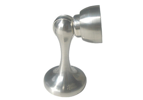 Satin Nickel Magnetic Door Holder