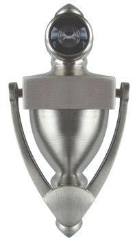 "Satin Nickel 5 1/4"" Door Knocker"