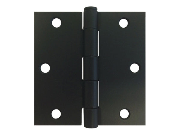 Black 3 1 2 Quot Door Hinges Square Corner Us10b Cheap