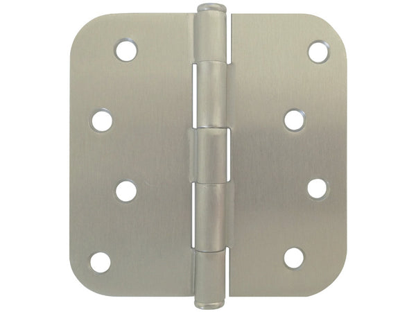 Satin Nickel 4 Quot Door Hinges 5 8 Quot Radius Us15 Cheap